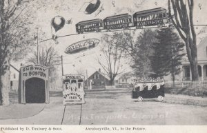 ASCUTNEYVILLE , Vermont , 00-10s ; In the future