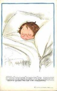 Artist Signed Grace Wiederseim / Drayton 1912 light crease top right edge, li...