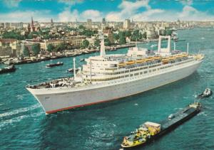 Flagship, S.S. Rotterdam, Holland-America Line, 50-70´s