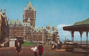Canada Quebec La Cite Chateau Frontenac Dufferin Terrace