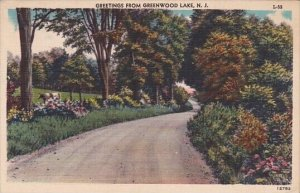 Greetings From Greenwood Lake New Jersey 1953