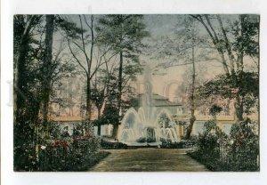 416028 RUSSIA PETERGOF Monplaisir Palace Vintage tinted postcard