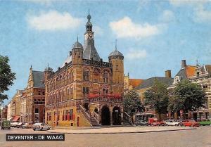 Netherlands Deventer De Waag, Street Cars Voitures Town Hall