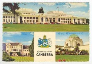 3 Views, Greetings From Canberra, Australia, 1940-1960s