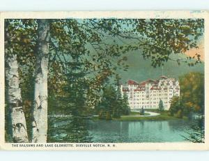 Unused W-Border BALSAMS HOTEL Dixville Notch - White Mountains NH u9374