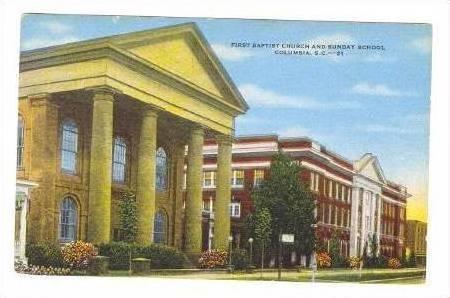 First Baptist Church & Sunday School,Columbia,SC,30-40