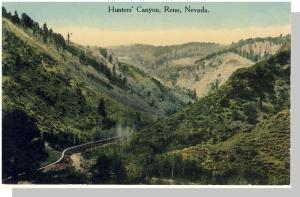 Classic Reno, Nevada/NV Postcard, Hunter's Canyon