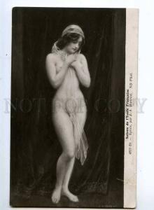 245312 NUDE Woman Slave Agnes by HANRIOT Vintage SALON PC