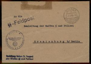 3rd Reich Germany Concentration Camp KL Bergen Belsen SS KL Niederhagen Fe 91602