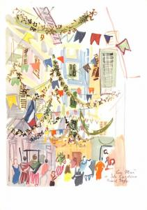 Dufy - Street in Nice