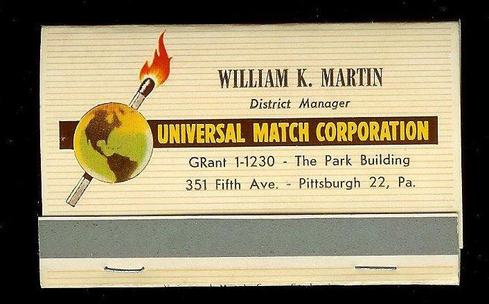 UNIVERSAL MATCH Full Unstruck Matchbook
