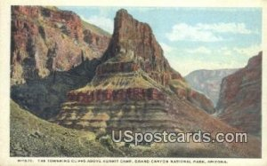 Towering Cliffs, Hermit Camp - Grand Canyon National Park, Arizona AZ