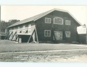 Pre-1950 rppc NICE VIEW Custer In Black Hills - Near Rapid City SD W0234