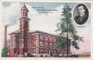 Iowa Des Moines Home OF The Meredith Publications