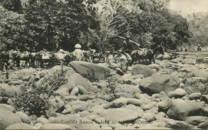 indonesia, CELEBES SULAWESI, Dutch Colonial Reserve on Expedition KNIL (1910)