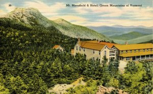 VT - Mt Mansfield and Hotel