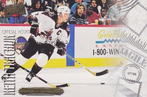 Ice Hockey Player - Keith Tkachur, PHOENIX COYOTES, Arizona, 1998