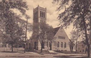 Saint Thomas Church Sioux City Iowa Albertype