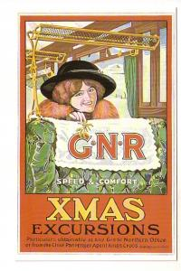Christmas Excursions, Speed and Comfort, Pretty Woman, Great Northern Railway