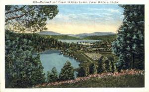 Fernand and Coeur D'Alene Lakes Coeur d'Alene ID Unused