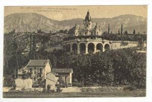 Chateau De La Roche-du-Roi Et Mont Revard, Aix-le-Bains (Savoie), France, 190...