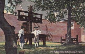 Virginia Williamsburg The Public Gaol