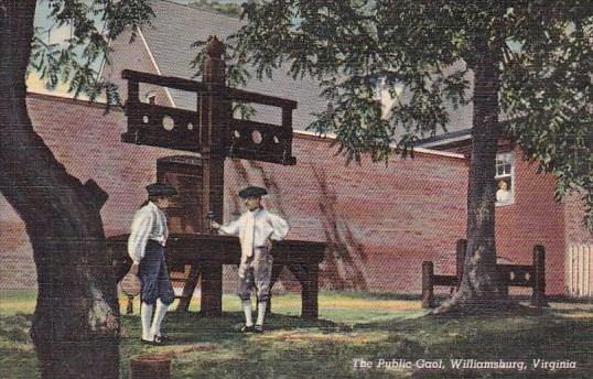 Virginia Williamsburg The Public Gaol