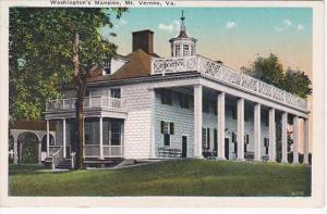 Virginia Mount Vernon Washington's Mansion 1920