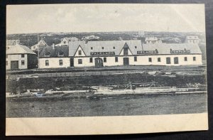 Mint Original Real Picture Postcard Falkland Islands Company View