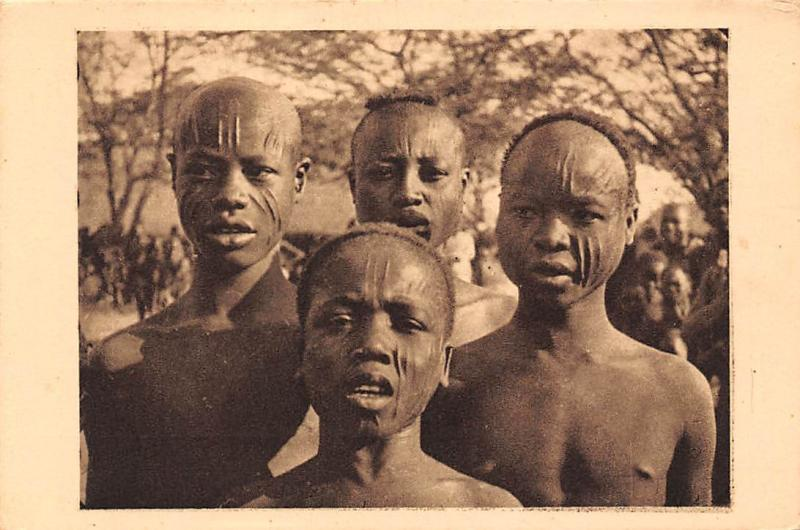 Chad, Tchad, , Types de Sara de Fort Archambault, Native, Tribe, Sarh