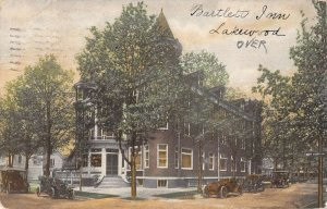 Lakewood New Jersey Bartlett Inn Vintage Postcard AA13527