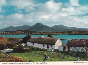 GALWAY, Ireland, 1950-1960s; Thatched Cottage, Near Renvyle, Connemara