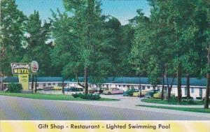 Alabama Montgomery Cinderella Motel & Restaurant 1963