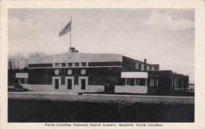 North Carolina Sanford North Carolina National Guard Armory 1946 Albertype