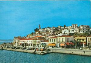Greece, Poros, Picturesque View, 1985 used Postcard