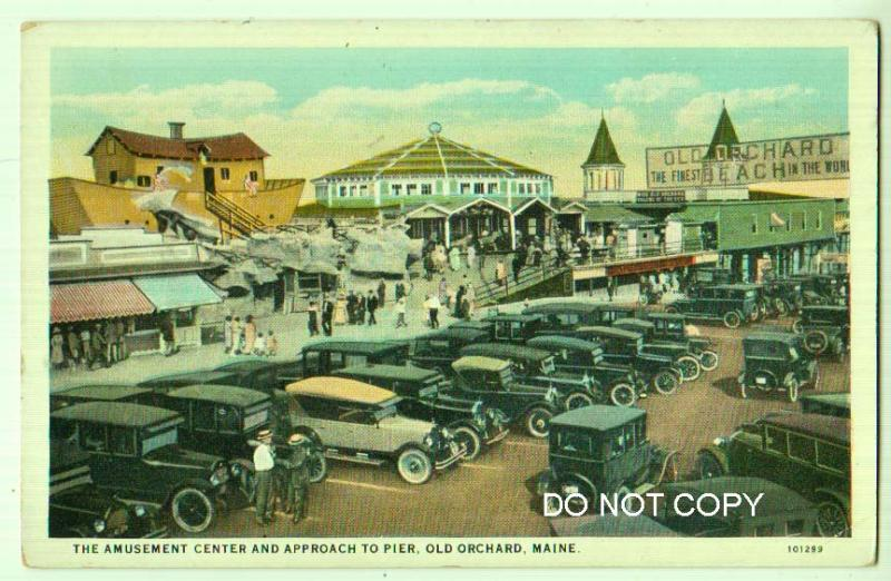 Amusement Center & Approach Pier, Old Orchard ME