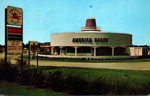 Virginia Eastern Shore America House Motor Inn & Restaurant 1969