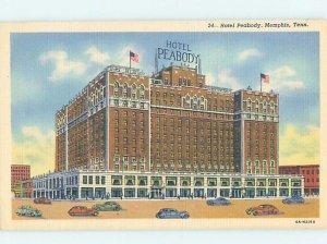 Linen HOTEL SCENE Memphis Tennessee TN AE1717