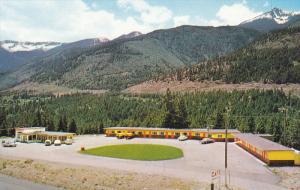 Aerial View, Lytton Pines Motel, LYTTON, British Columbia, Canada, 40-60´