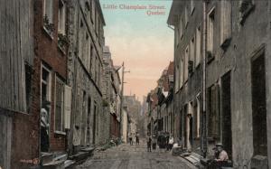 Little Champlain Street , Quebec , Canada , 00-10s