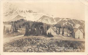 F31/ Mt Rainier National Park Washington RPPC Postcard 1922 Paradise Inn