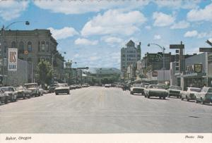Main Street , BAKER , Oregon , 60-70s