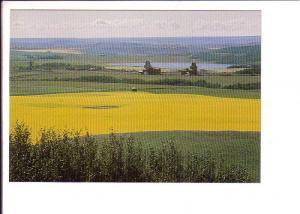 Prairie Scene, Prongua Saskatchewan Canada Post Matching 8 Cent Stamp Series