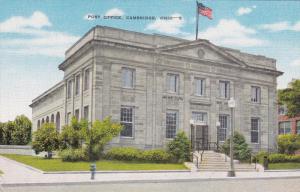 CAMBRIDGE, Ohio, 1930-1940s; Post Office
