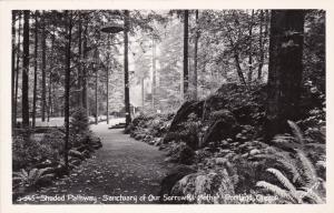 RP: PORTLAND, Oregon,30-40s; Shaded Pathway-Sanctuary of Our Sorrowful Mother