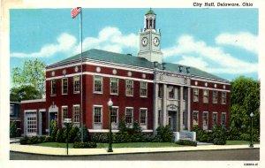 Delaware, Ohio - A view of City Hall - c1920