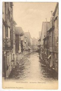 Riviere-Rue Thiers (aval), Pont-Audemer (Eure), France, 1900-1910s