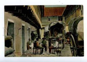 126610 Argentina CORDOBA Patio de una posada Vintage postcard