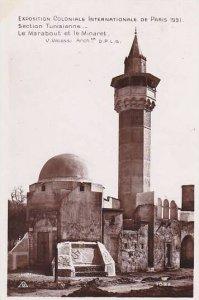 Tunisia Section Tunisienne Le Marabout et le Minaret Paris Expo 1931 Photo