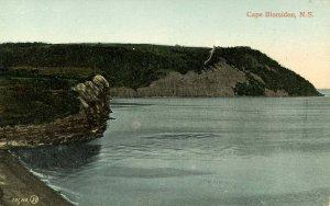 Canada - Nova Scotia, Cape Blomidon. Shoreline Scene